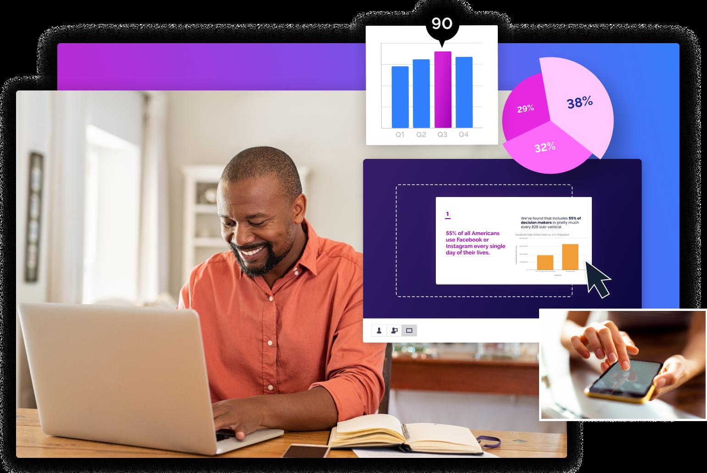 create professionally-looking presentations