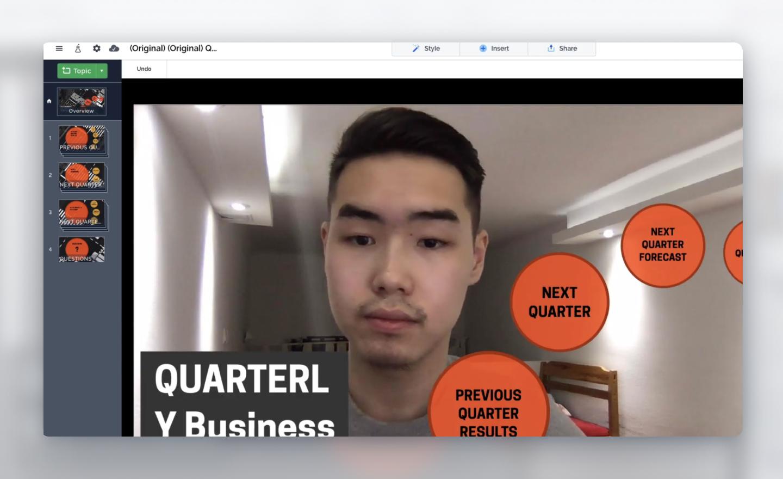 turn presentation into video