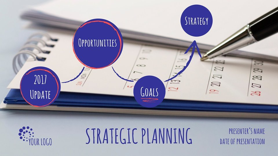strategic planning presentation template