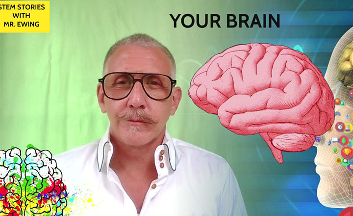 Jamie Ewing teaches all about the brain in the first of a seven part series. Here he reviews the different parts of the brain.