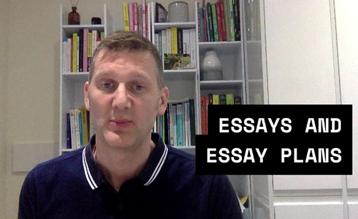 Mark Holloway explains to his students why essays are an important assessment tool, how they teach students, and their purpose.