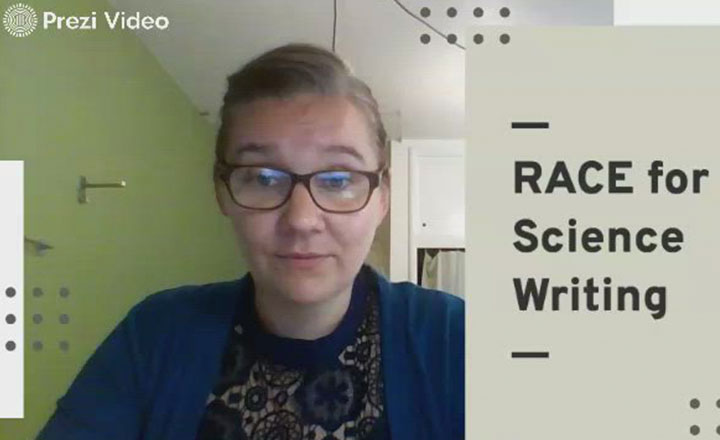 Joy Kerr-Owens breaks down the RACE acronym for writing science text.