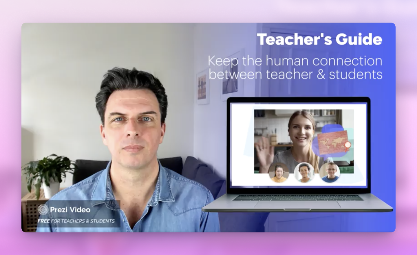 tips for using Prezi Video in online classroom