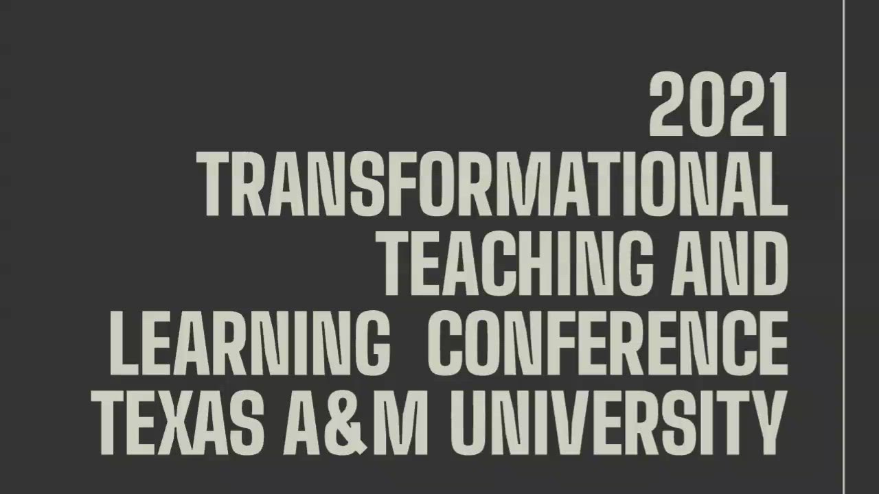 Transformational Teaching and Learning Conference