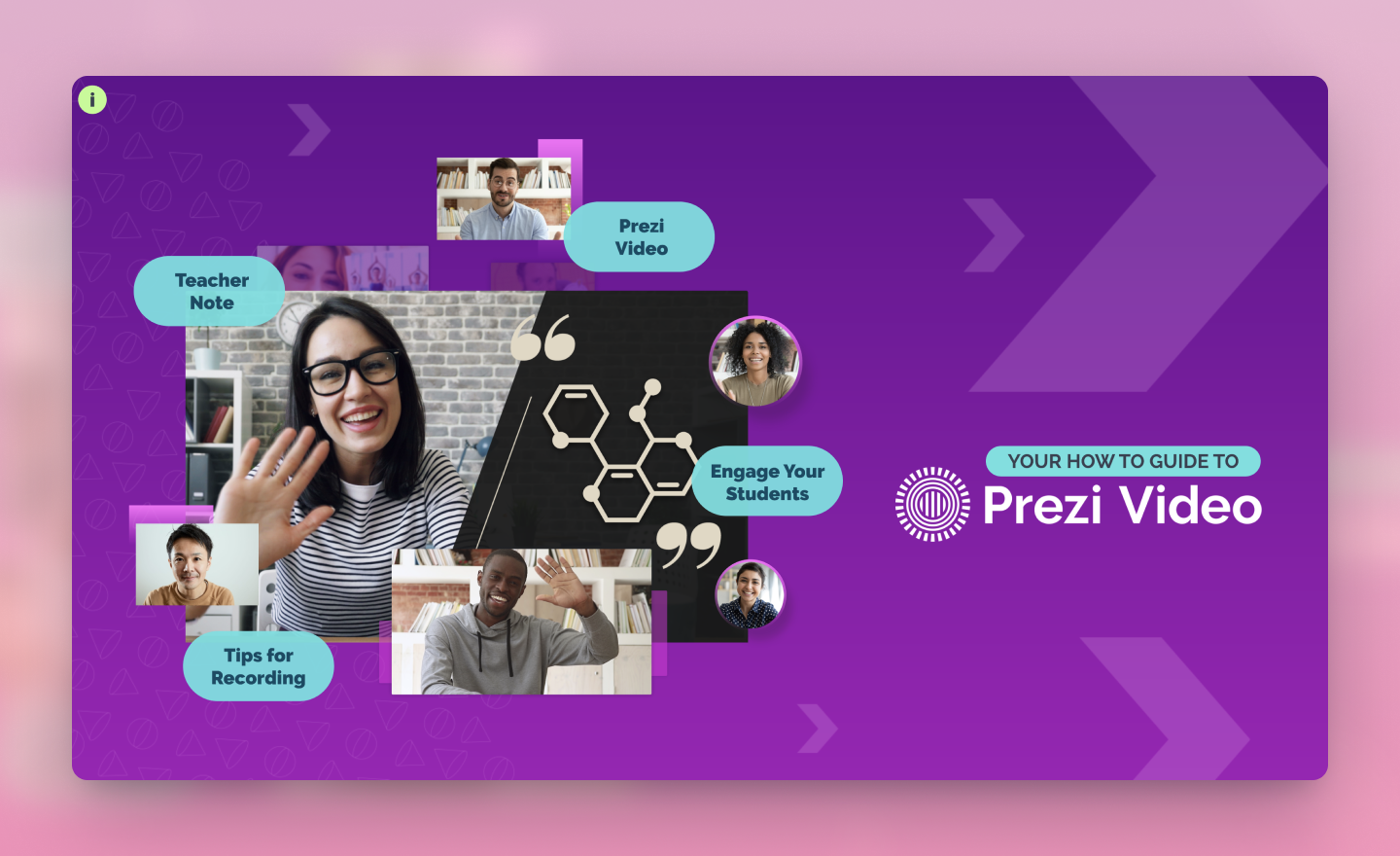 how to create a video lesson on Prezi Video