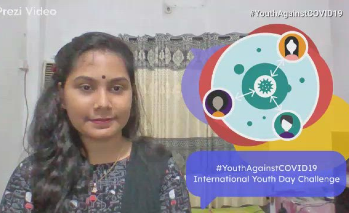 #YouthAgainstCOVID19 International Youth Day Challenge