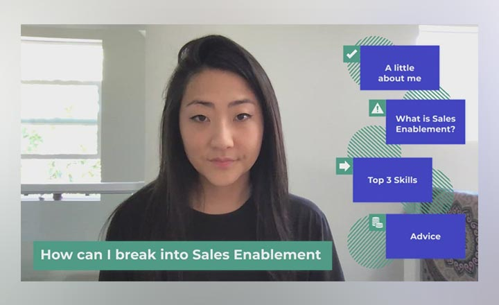 Hear about Jean's Go-To-Market Enablement role at LinkedIn as she shares quick, tangible tips and tricks for anyone interested in breaking into the Sales Enablement space.